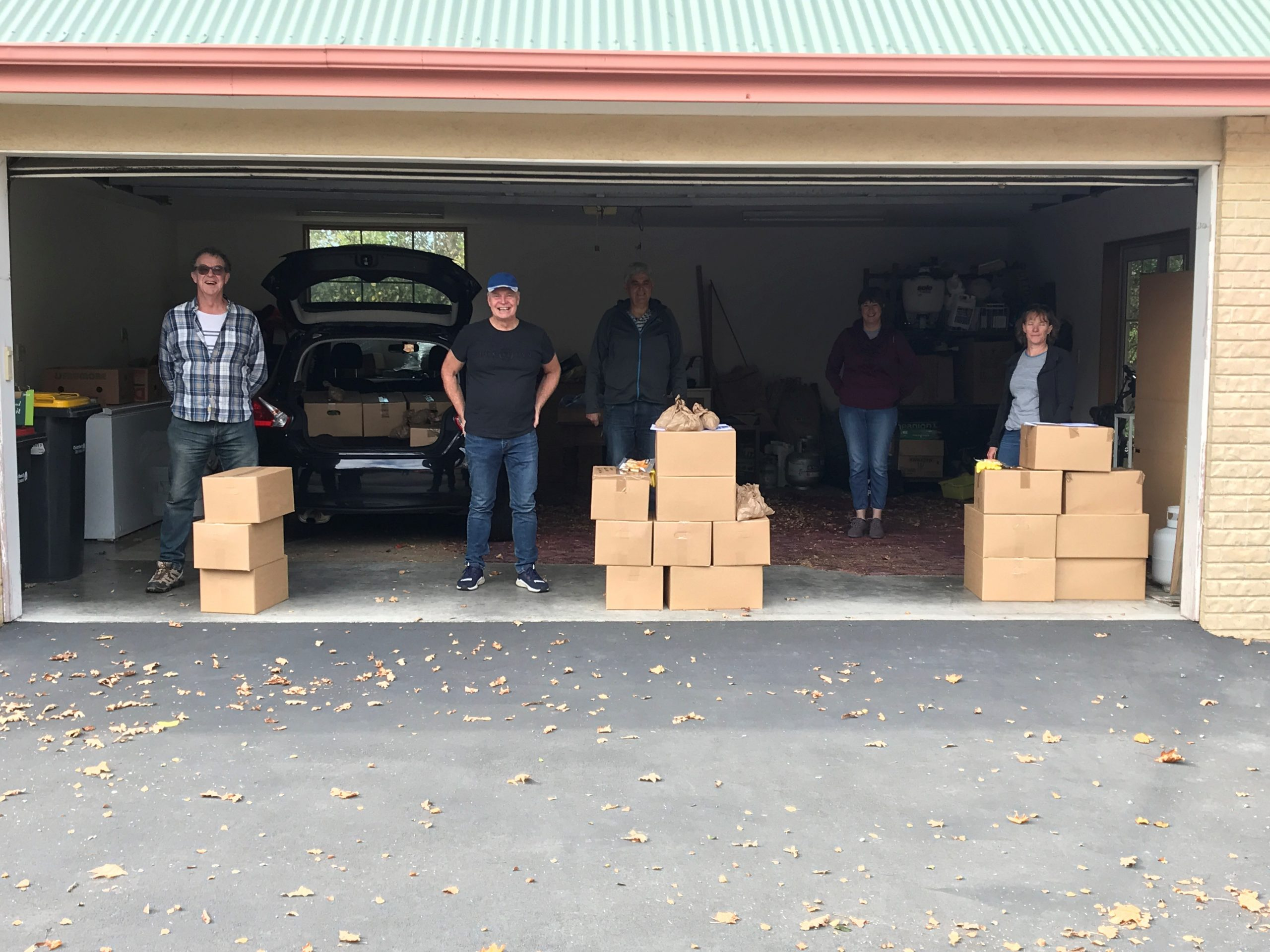 NHT Board delivers Kai Boxes to community