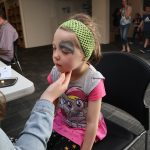 Neighbourhood Trust Light Party 2020 face painting