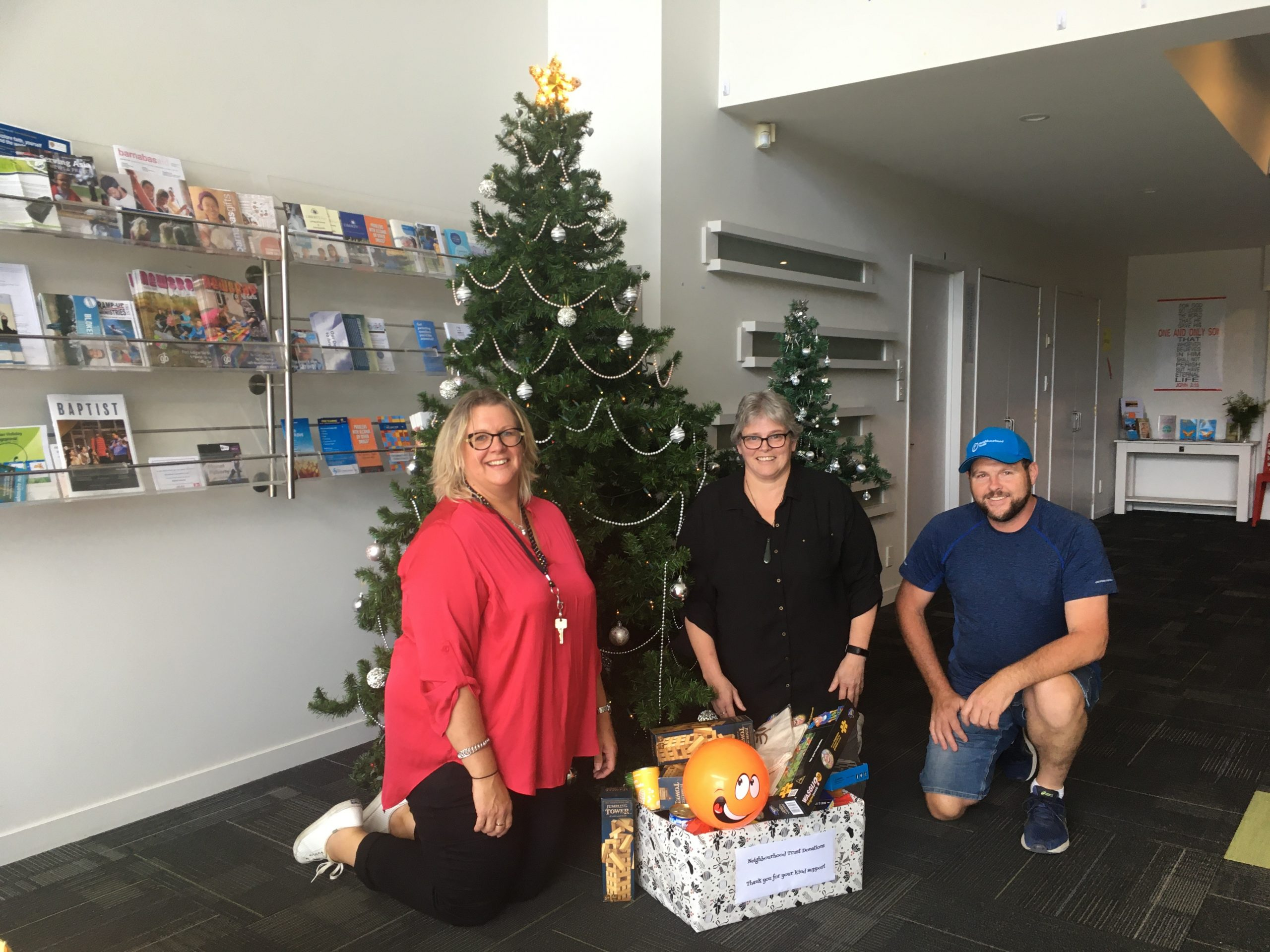 Mairehau Primary School Christmas donation